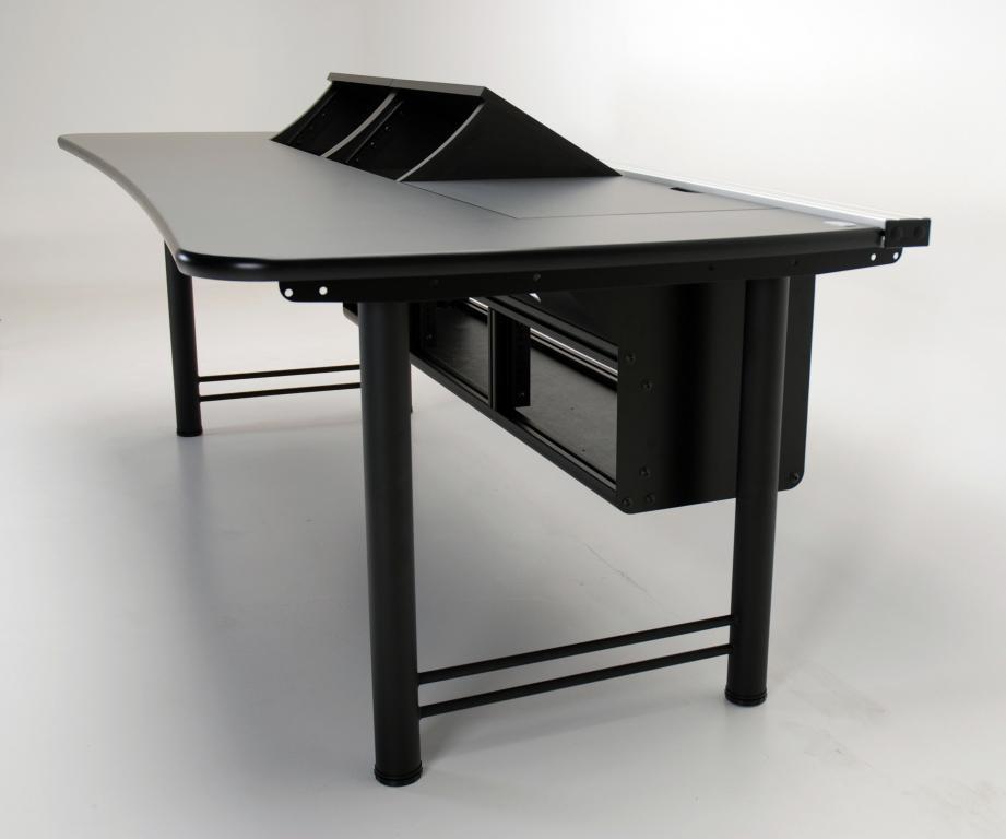 UNISET, PROEDIT, PRO EDIT, PRO-EDIT, Editing furniture, behind the scenes desk, Control room, Console desk