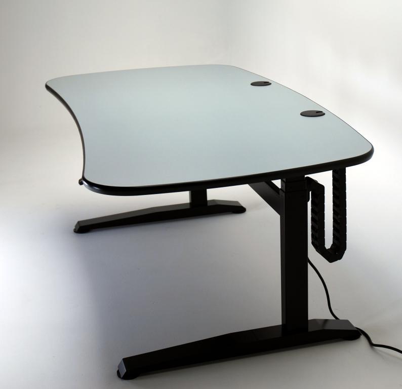 UNISET PRO-EDIT Ergonomic Keyboard Desk- UPEKD a