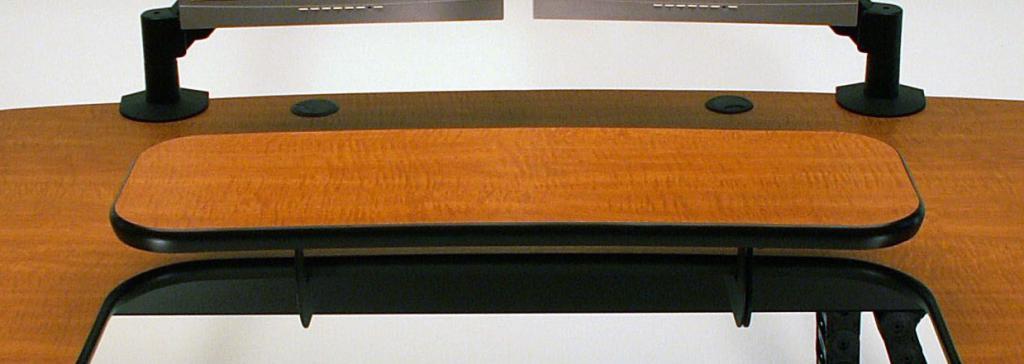 UNISET PRO-EDIT Ergonomic Keyboard Desk- UPEKD c