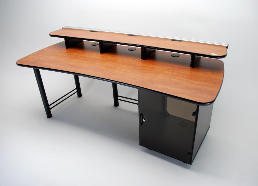 UNISET, PROEDIT, PRO EDIT, PRO-EDIT, Editing furniture, behind the scenes desk, dual height desk