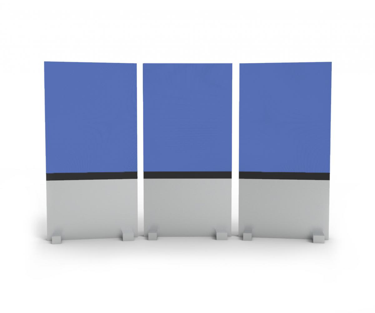3 rolling panels