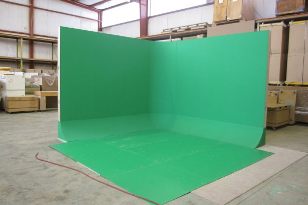 free standing, cyclorama, green screen, UNISET