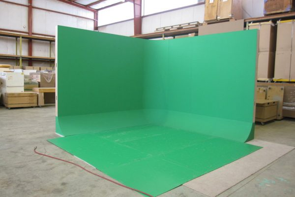 free standing, cyclorama, green screen, UNISET