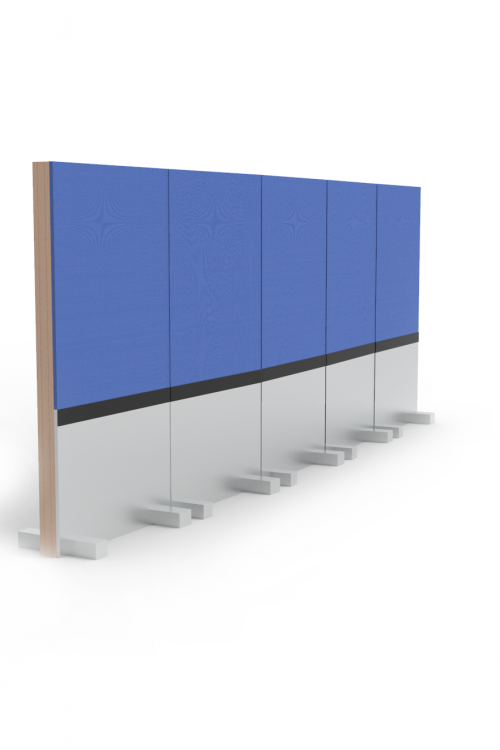 Rolling Panel System, Rendering
