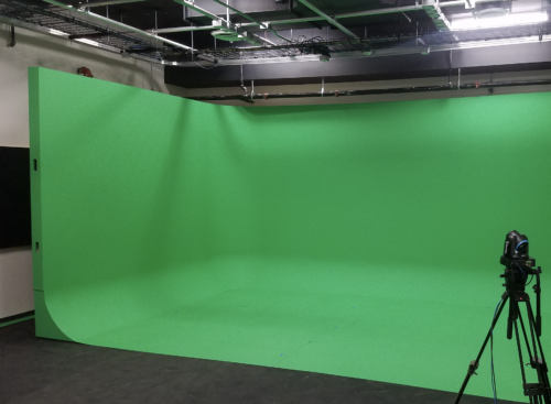 U shaped free standing Green Screen Cyclorama infinity Wall