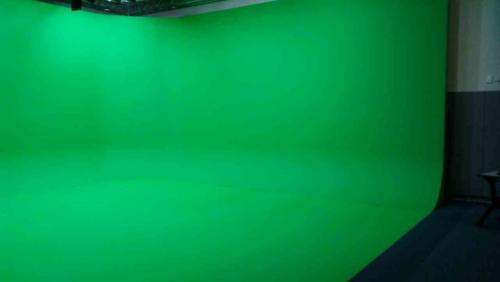 90* green screen cyclorama UNISET free standing