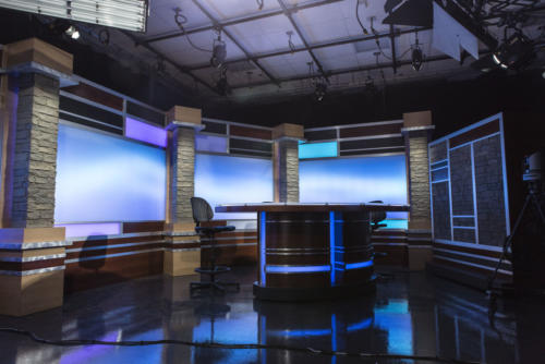 San Antonio College Custom news Studio