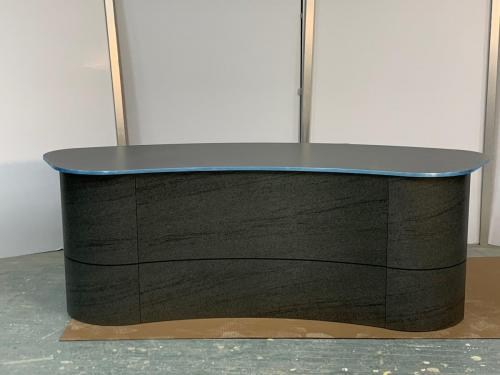 tv studio news interview desk / anchor desk for tv broadcast productions