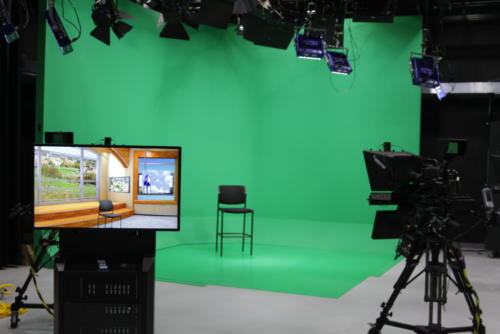Frostburg State , UNISET Green Screen Cyclorama