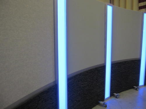 Light box columns