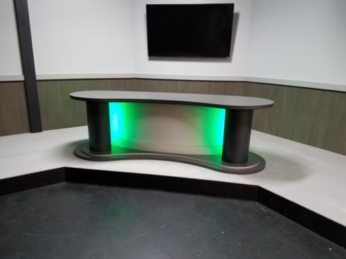 National Shooting Foundation UNIPRO Studio System and custom Desk