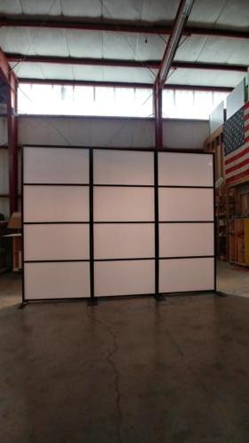 Monsanto Transition Panels with Milky Acrylic Inserts