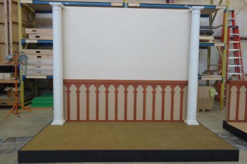 Custom columns and custom background