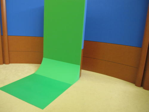 Point to Point Sweeps and flooring for rolling panel system
