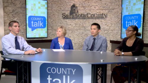 G Top with talent on Sarasota County's Set